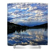 Dawn Over Big Sky Shower Curtain