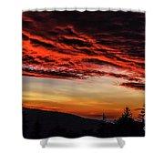 Dawn Over Big Spruce Knob Shower Curtain
