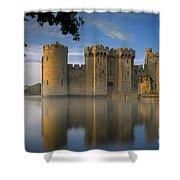 Dawn Over Bodiam Castle Shower Curtain