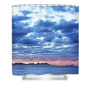 Dawn Over False Bay 2 Shower Curtain