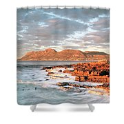 Dawn Over Simons Town South Africa Shower Curtain