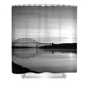 Dawn Over The Cape Cod Canal Shower Curtain