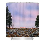 Dawn Pacific Crest Trail Shower Curtain