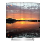 Dawn Panorama Shower Curtain