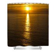 Dawns Beacon Shower Curtain