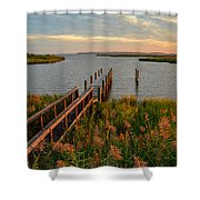 Dawn's Early Light Shower Curtain