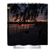 Dawns Light Shower Curtain