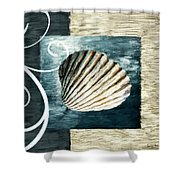 Day At The Beach Shower Curtain by Lourry Legarde
