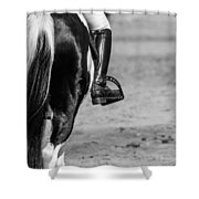 Day At The Dressage Shower Curtain