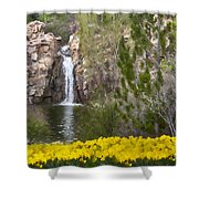 Day At The Falls Shower Curtain
