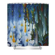 The Day Begins Shower Curtain