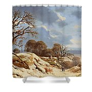 Day By The Baltic Sea Shower Curtain