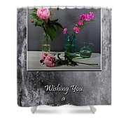 Day Filled With Happiness Shower Curtain