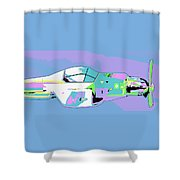 Day Flight Shower Curtain