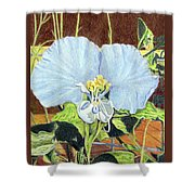 Day Flower Shower Curtain