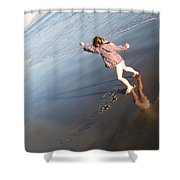 Day In Santa Barbara Shower Curtain