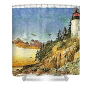 Day Is Done 2015 Shower Curtain