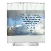 Day Light Shower Curtain by Leona Atkinson