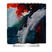 Daybreak At The Falls Shower Curtain