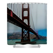 Daybreak At The Golden Gate Shower Curtain