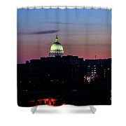 Daybreak In Madison Wi Shower Curtain