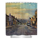 Daybreak In Mineral Point Shower Curtain