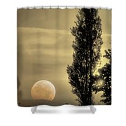 Daybreak On A Country Road Shower Curtain