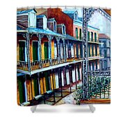 Daybreak On St. Ann Street Shower Curtain