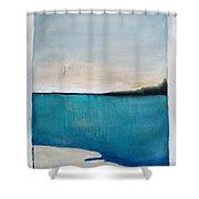 Daybreak On The Beach Shower Curtain