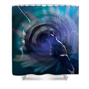 Daydream Shower Curtain by Lauren Radke