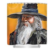 Daydream Wizard Shower Curtain