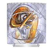 Daydreamers Abstract Shower Curtain