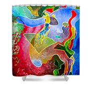 Daydreams Shower Curtain