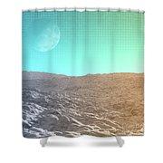 Daylight In The Desert Shower Curtain