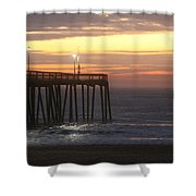 Day's Beginnings Shower Curtain