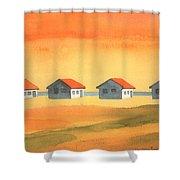 Days Cottages Shower Curtain