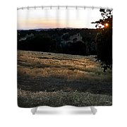 Day's End In Ten Shower Curtain