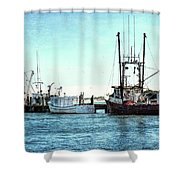 Days End... Shower Curtain