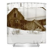 Days Gone By 5 Shower Curtain