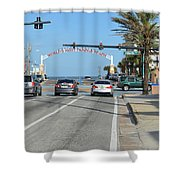 Daytona Beach Shower Curtain