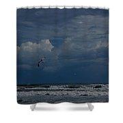 Daytona Beach Kind Of Day Shower Curtain