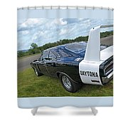 Daytona Charger Shower Curtain
