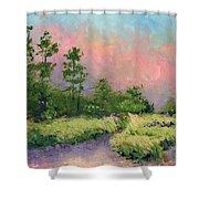 Daytona Pines Shower Curtain