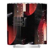Dazed Shower Curtain