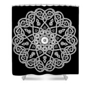 Dazzled Beads Shower Curtain