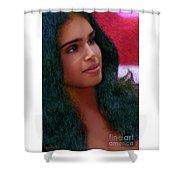 Dazzling Beauty Shower Curtain