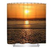 Dazzling Cannon Beach Shower Curtain