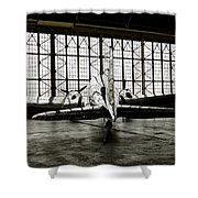Dc-3 Shower Curtain