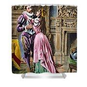 De Soto & Isabella, 1539 Shower Curtain