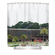 De Young Museum In San Francisco, California Shower Curtain